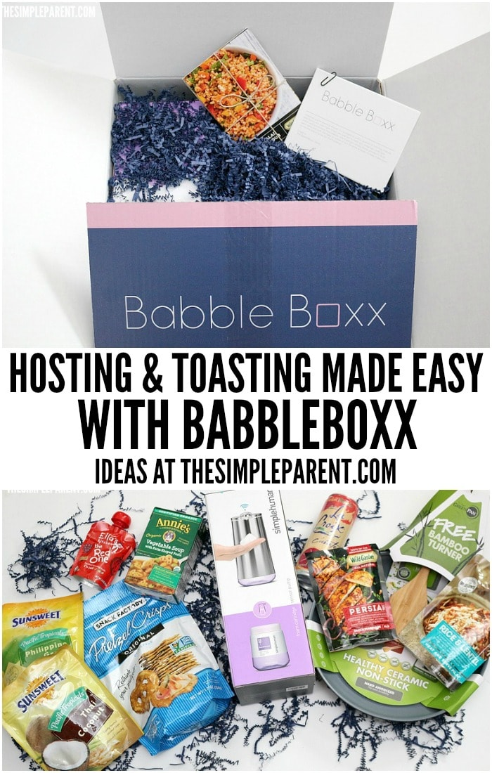 Check out how easy Babbleboxx makes it to entertain this holiday season!