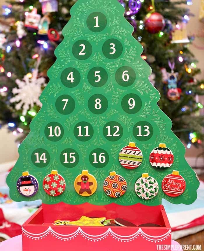 Celebrate with easy holiday countdown traditions for your family!