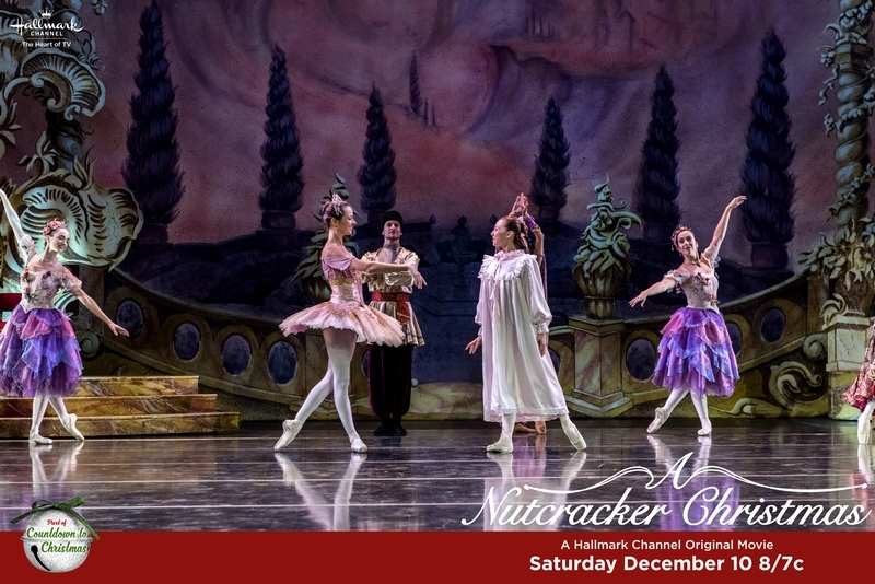 "Tune in to Hallmark Channel's ""A Nutcracker Christmas"" on Saturday, December 10th!"