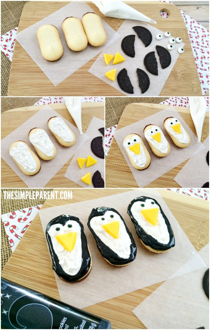 Celebrate winter with easy no bake Oreo penguin cookies!