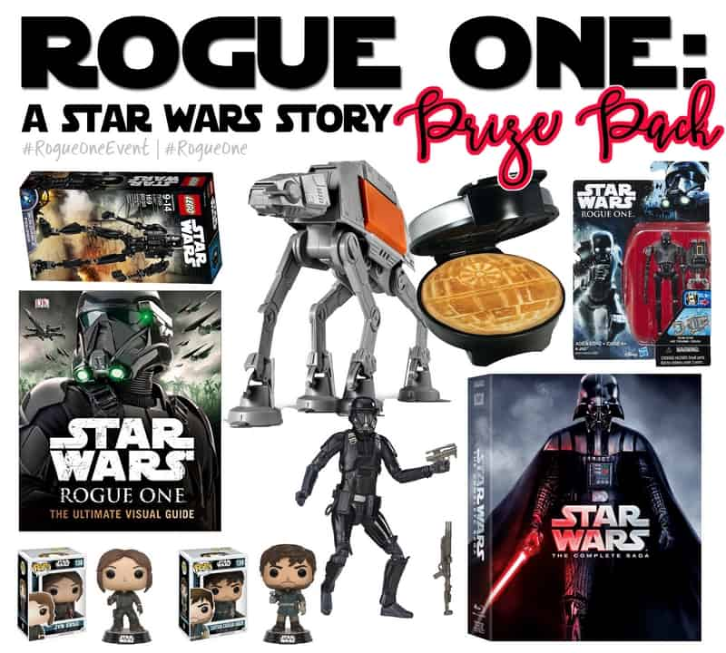Enter the Star Wars Rogue One Giveaway!