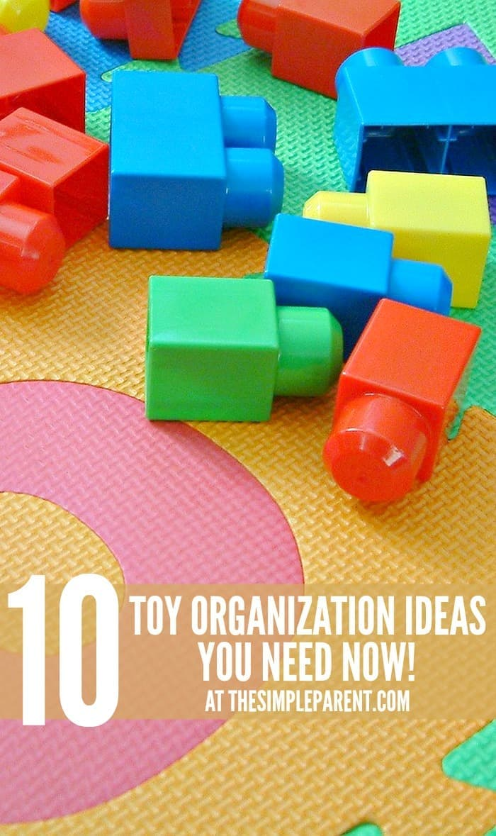 Check out these 10 toy organization ideas you need now to get your house more organized for the new year!