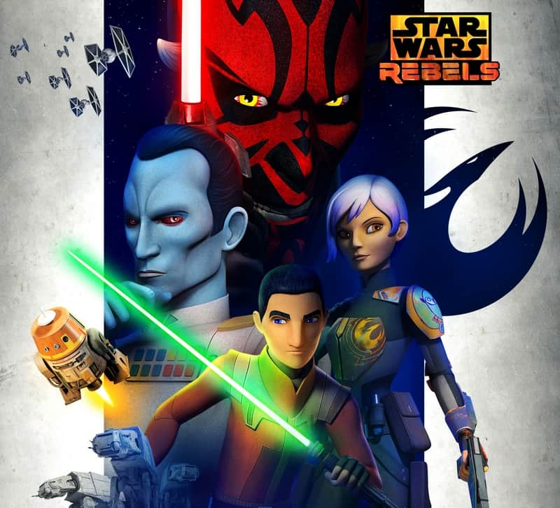 Don't miss Star Wars Rebels on Disney XD!