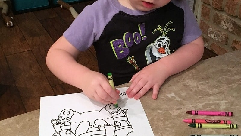 Fun Winter Printable Activity for Little Ones