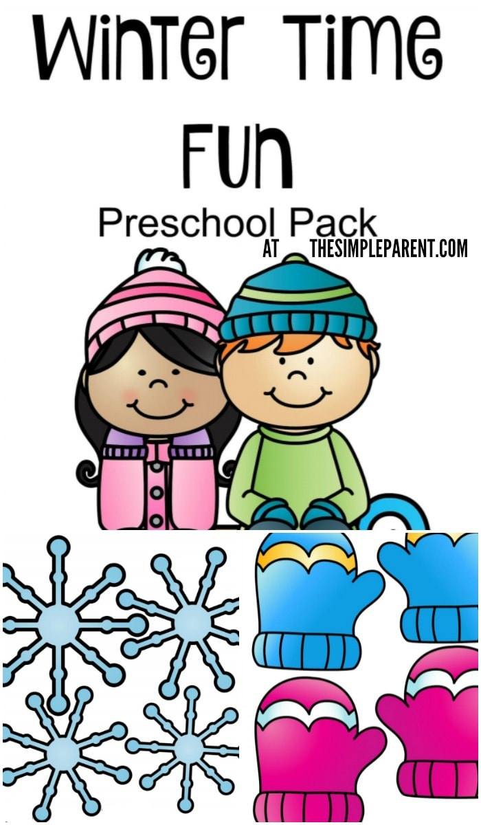 Keep your kids busy with this fun winter printable activity for preschoolers!