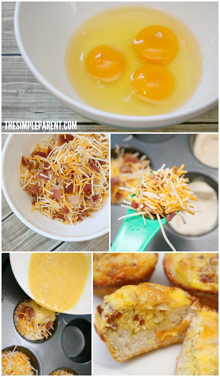 Check out how to make this baked egg muffin tin recipe!