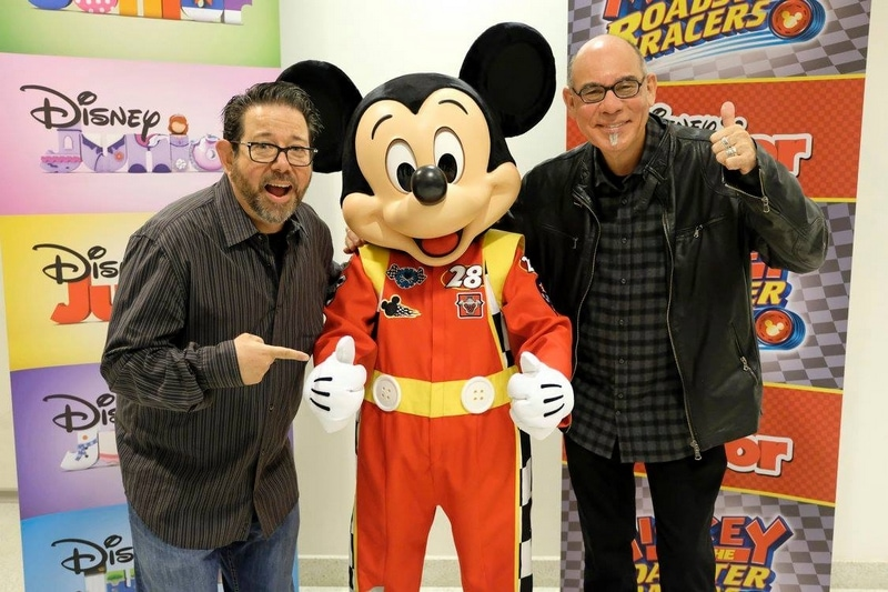 Meet the minds behind Mickey & the Roadster Racers! We're adding it to our Disney Junior shows list that we love!