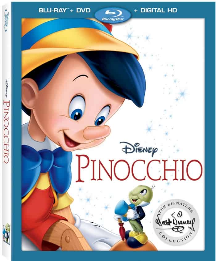 Get your family's Disney Pinocchio Blu Ray today!