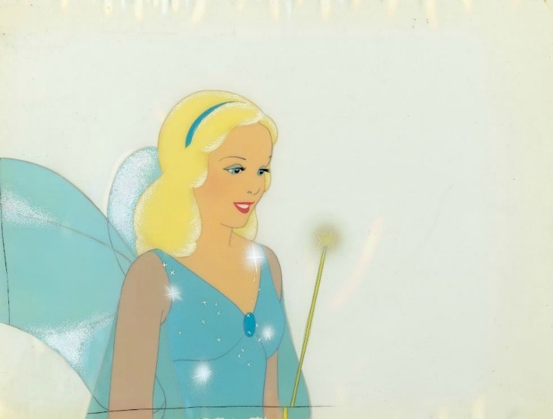 The Blue Fairy is one of the most recognizable Disney Pinocchio images!
