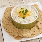 Bacon Ranch Cheese Dip Recipe for Game Day Entertaining