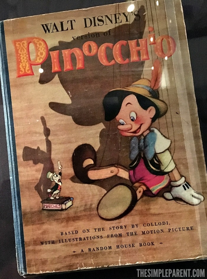 Check out the newest Pinocchio Disney Blu Ray release and add it to your family's collection!