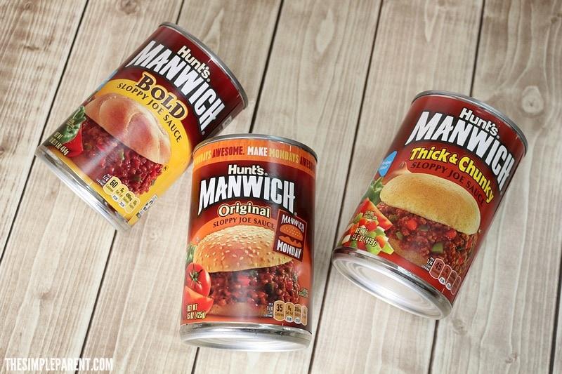 Manwich is the secret ingredient to this tasty Baked Sloppy Joe recipe!