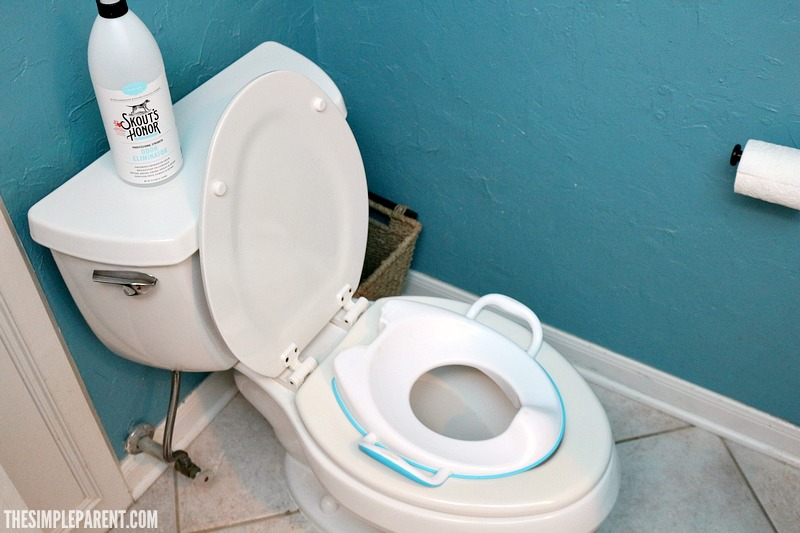 The best pet urine odor remover can also be used to handle family bathroom odors!
