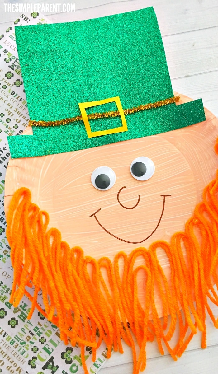 Celebrate St. Patrick's Day with this fun preschool leprechaun craft!