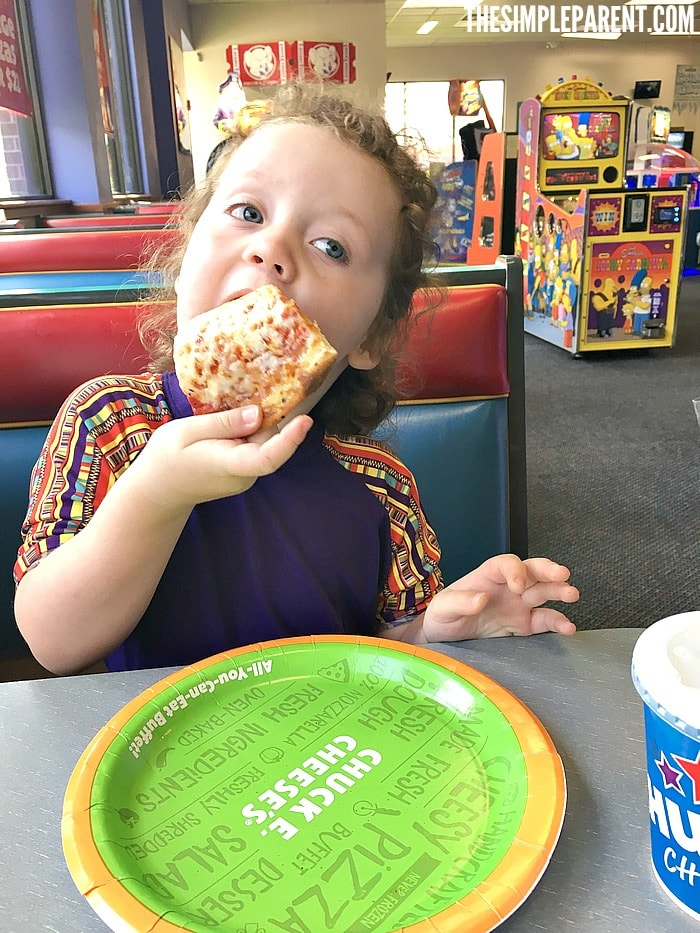 Families can enjoy fun and food together at Chuck E. Cheese's!