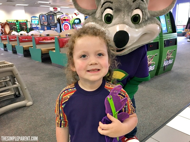Have fun with the family at Chuck E. Cheese's!