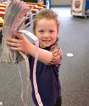 Kids Play Safe and have fun at Chuck E. Cheese's!