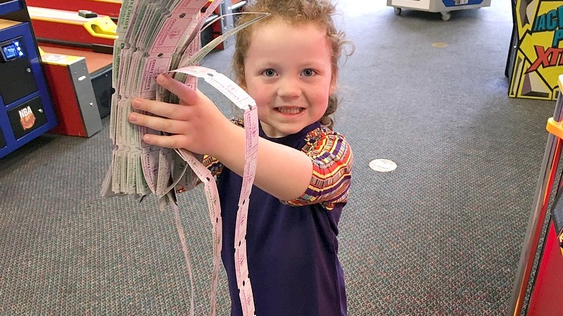 Kids Play Safe at Chuck E. Cheese's with a Fun Family Day