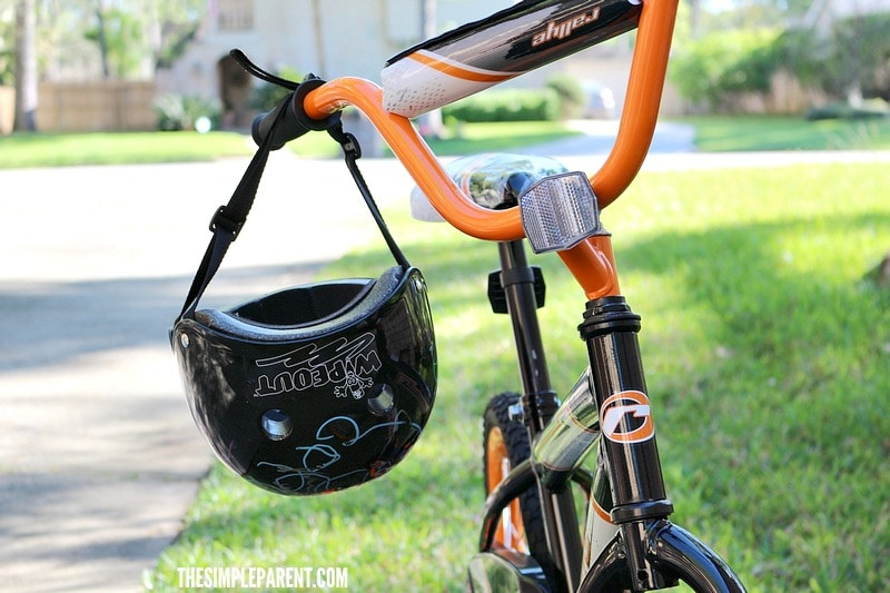 Motivate kids to ride with a design your own bike helmet set!