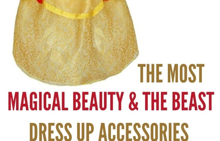 Disney Princess Belle Accessories Will Have Your Little Princess Ready for the New Movie