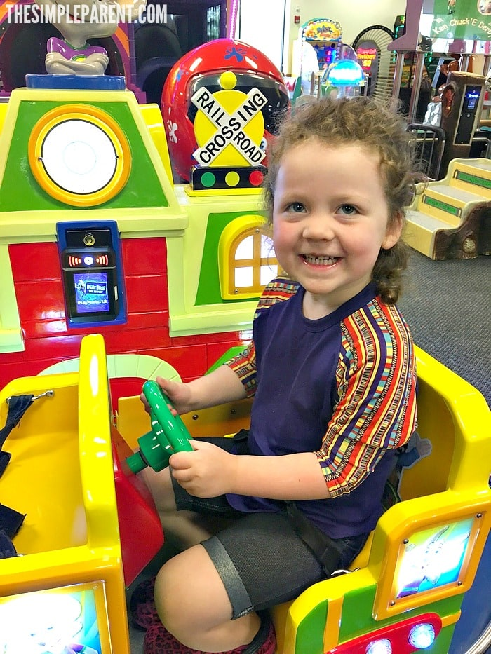 Kids Play Safe at Chuck E. Cheese's and there is fun for the whole family!