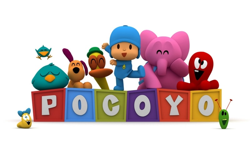 Pocoyo makes favorite Netflix kids shows list!