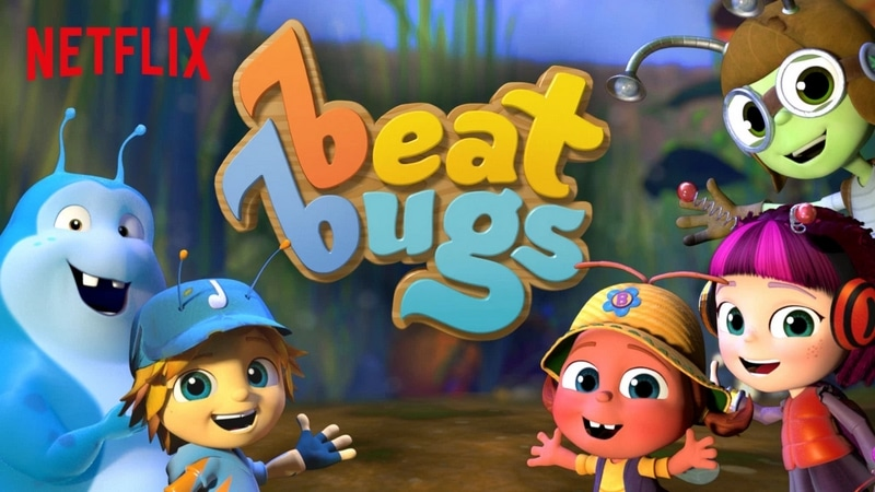 Looking for Netflix shows kids love? Check out Beat Bugs!