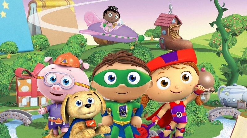Looking for great Netflix TV shows for kids? Try Super Why!