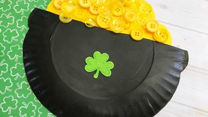 Try This Easy Pot of Gold Craft for Kids to Celebrate St. Patrick's Day!