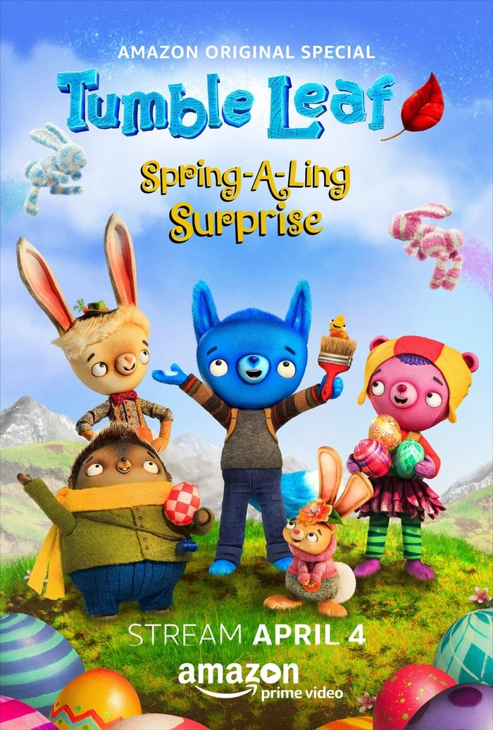 Celebrate spring with this Preschool Letter G Craft and Tumble Leaf's Spring-a-Ling special on Amazon!