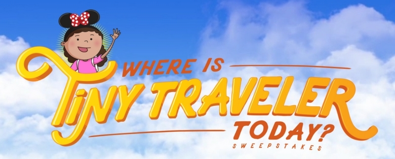 Learn why kids need travel at a young age and enter the Disney Tiny Travelers sweepstakes!