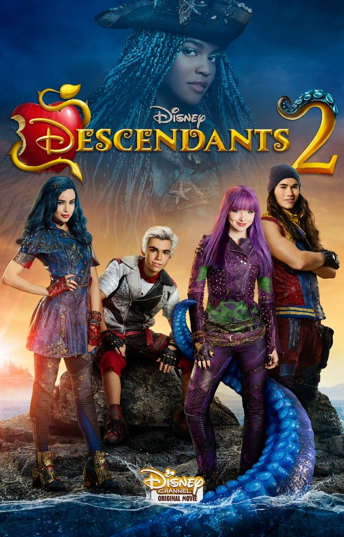 Disney Descendants 2 movie will premiere on July 21, 2017 at 8pm ET on five television networks!