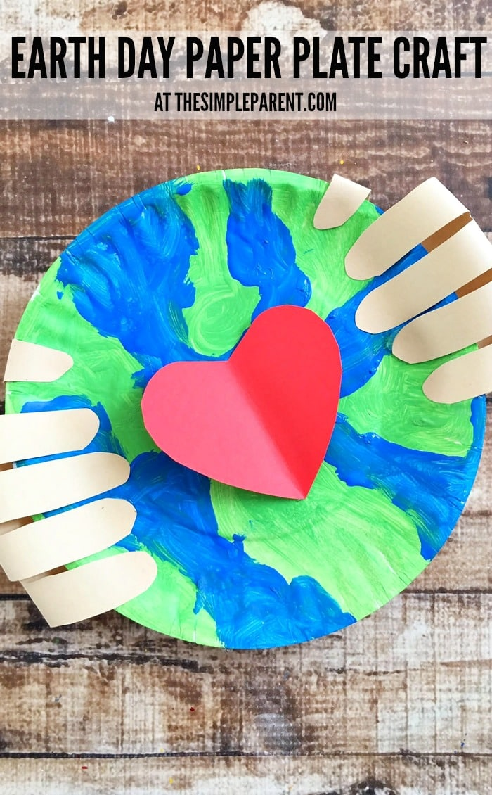 Make an Earth Day craft preschoolers will love!