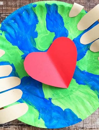 Earth Day Crafts Preschoolers Love are fun to make together!