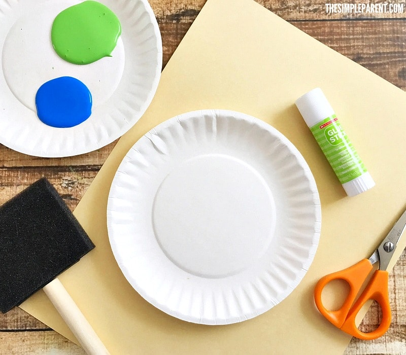Check out what you need to make an Earth Day paper plate craft with your kids!