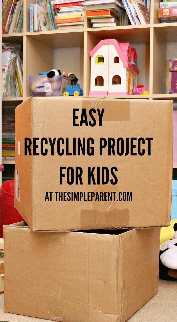 Try easy recycling projects for kids to get them involved in caring for our environment!