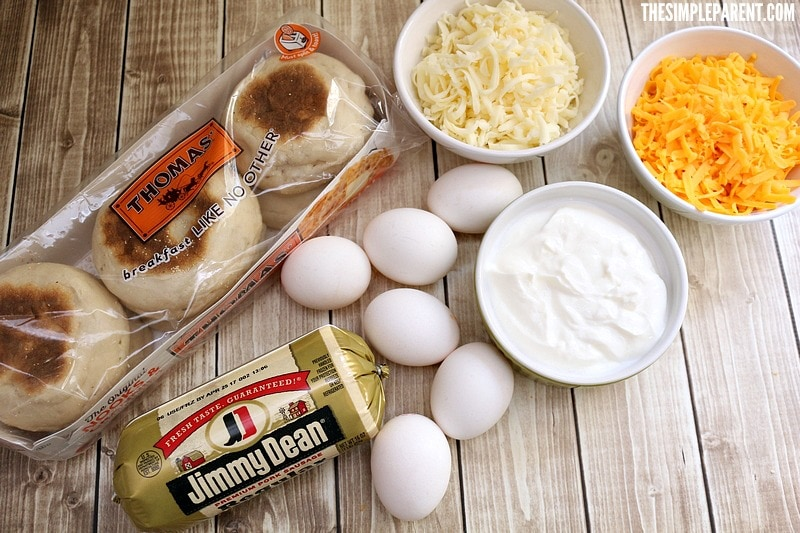 Here's what you need to make English Muffin Casserole.