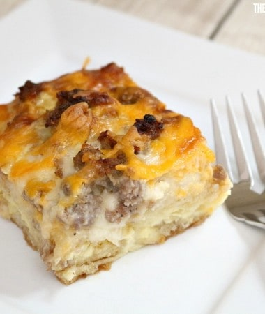 This English Muffin Egg Casserole Will Make Mother's Day Brunch Delicious