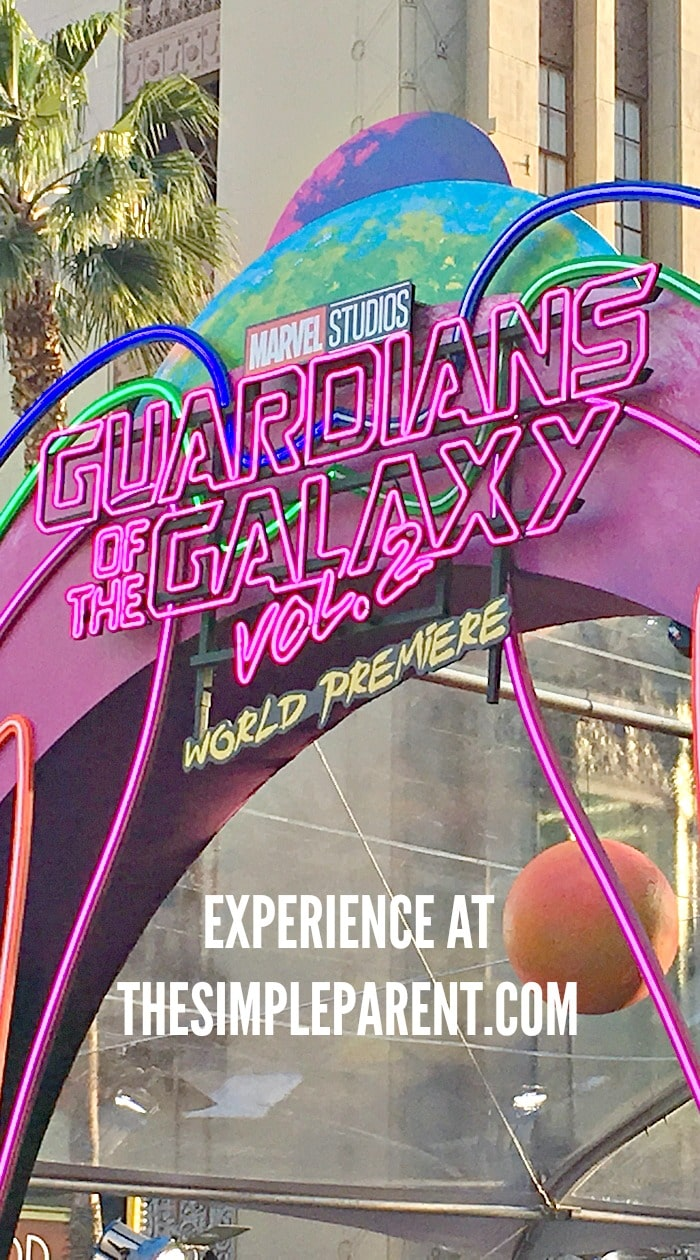 Check out my world premiere experience and Guardians of the Galaxy 2 review!