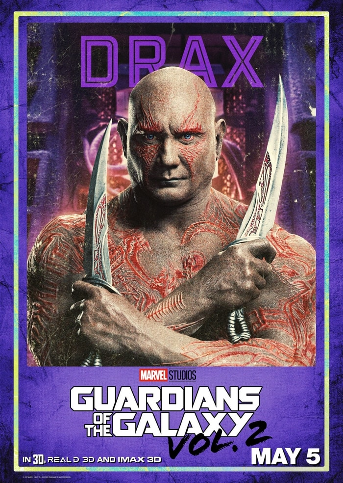 Chatting about Guardians of the Galaxy Vol. 2 Drax with Dave Bautista