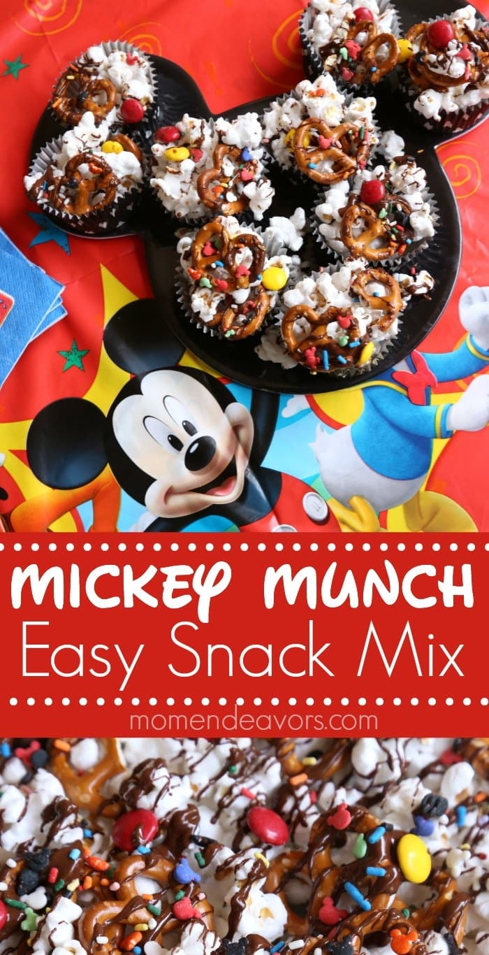 Mickey Mouse Clubhouse Party Themes work great for playdates! Just keep it simple and the kids will love it!