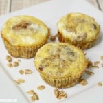 Easy Baked Egg Muffin Cups with Granola to Make Breakfast Simple