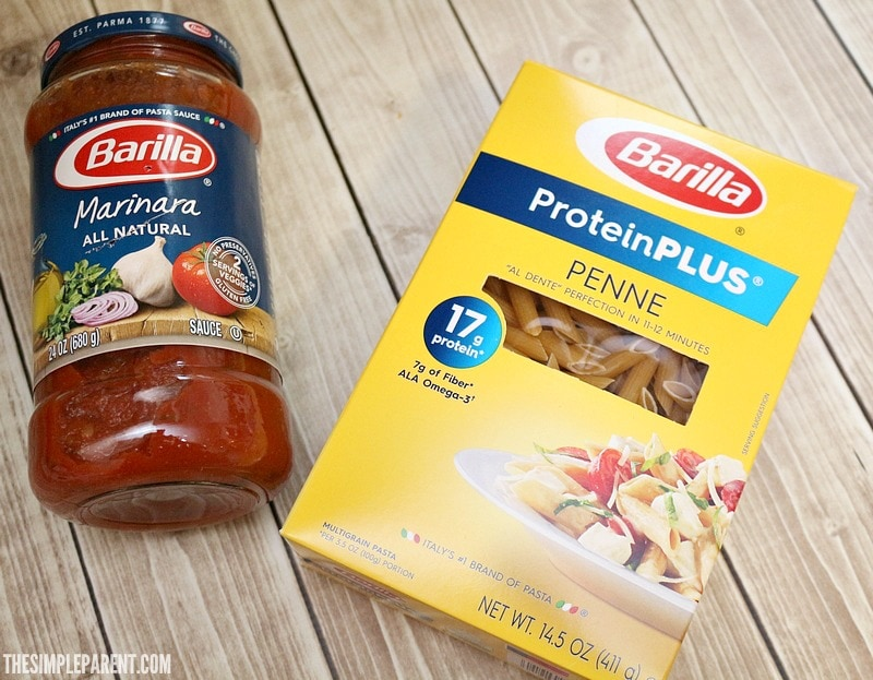 Make this penne pasta marinara sauce recipe with help from Barilla!