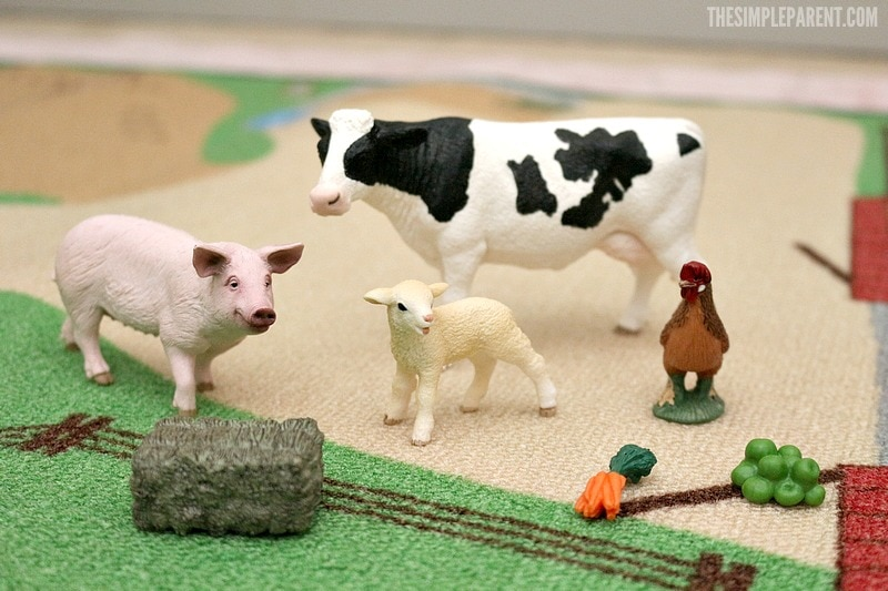 Check out the Schleich Farm Toys My First Farm Animals Set!