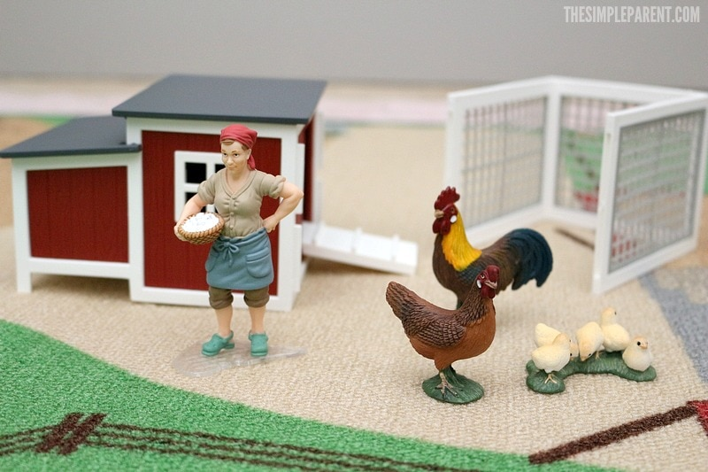 The Schleich Farm Toys Chicken Coop is a great way to encourage imaginative play in your kids!