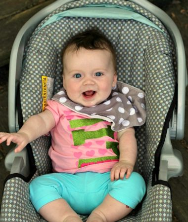Sunshine is good for baby's skin but best baby skin tips suggests you keep baby in the shade!