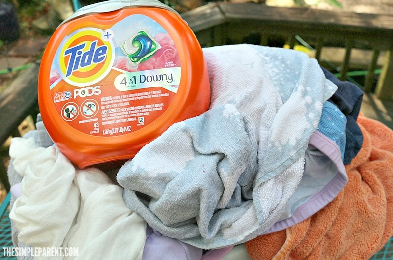 Choose a detergent that works well with cold water washing for your laundry!