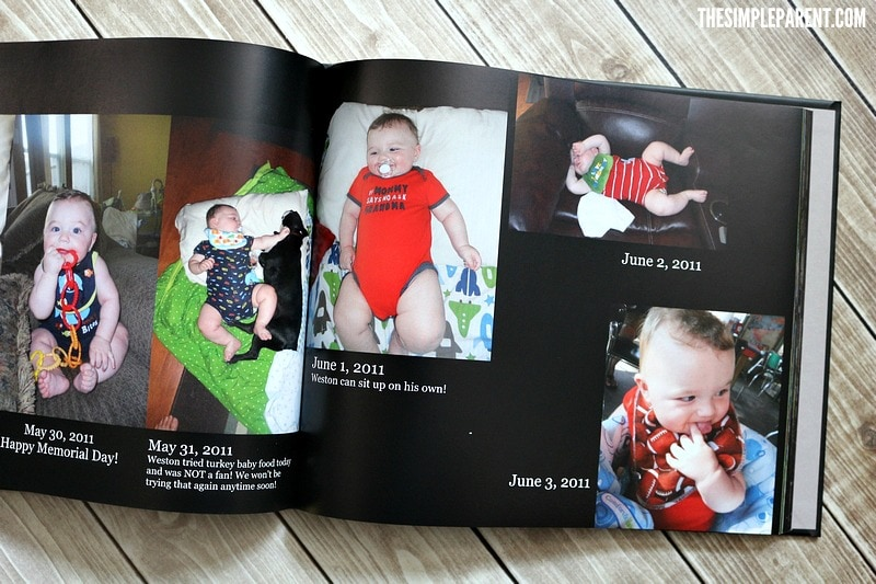 Creating memory book ideas can help you track those important moments with less pressure!