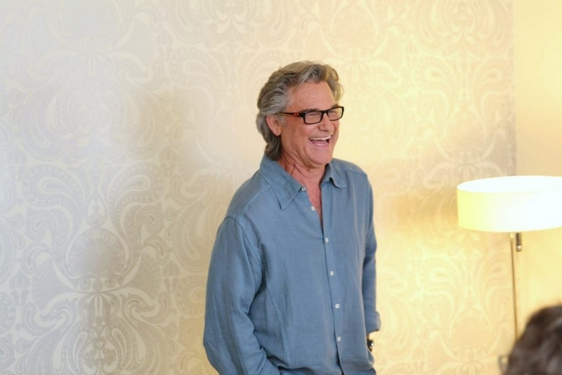 Kurt Russell Interview - Guardians of the Galaxy 2 Spoiler Alert!