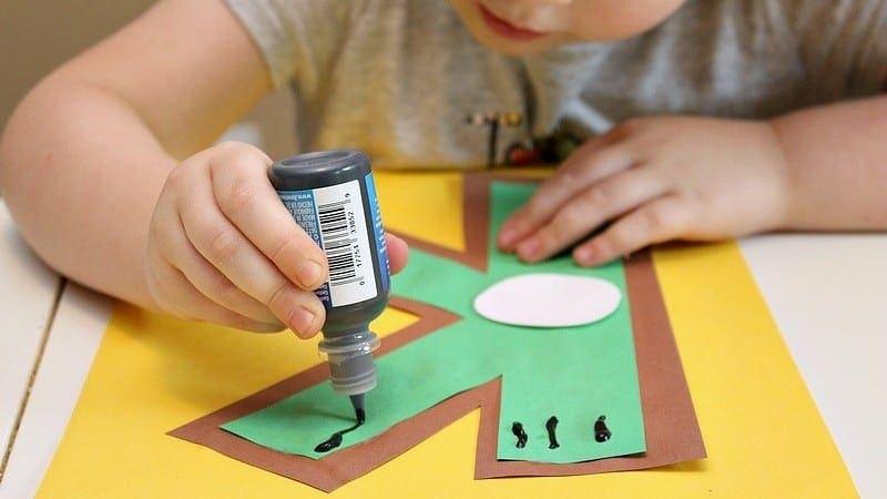 Letter K Craft for Preschool: K is for Kiwi Alphabet Craft